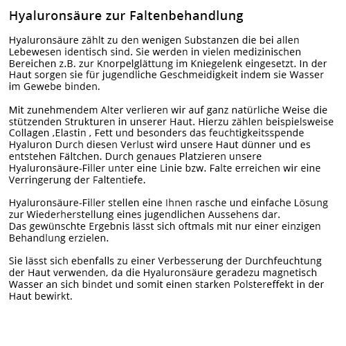 Faltenunterspritzung, Kosmetiker aus  Einhausen - Jägersburg, Groß Hausen und Klein Hausen