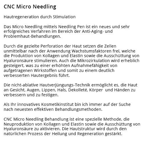Micro_Needling aus  Einhausen